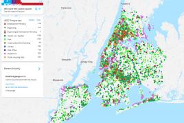 ¿Quién tiene la propiedad de los espacios públicos de New York?